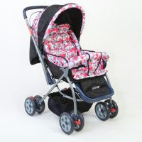 StarShine Baby Stroller – Light Red