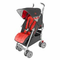 Maclaren Techno xlr Stroller - Cardinal/Charcoal
