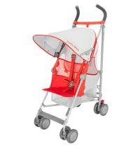 Maclaren Volo Stroller Silver/Marmalade