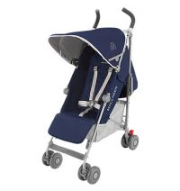 Maclaren Quest Stroller-Medieval Blue/Silver