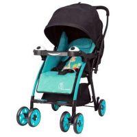 Poppins- An Ideal Pram- Baby Stroller For Moms (Blue/Black)