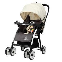 Poppins- An Ideal Pram- Baby Stroller For Moms (Cream Brown)
