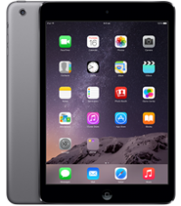 iPad Mini 2 with Retina Display Wi‑Fi and Cellular, 16 GB Space Grey