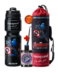 On The Go Avengers Series Iron Man (750 ml)