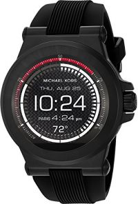 Michael Kors Access Dylan Silicone Black-Tone Smartwatch