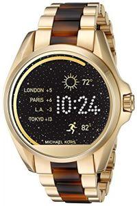 Michael Kors Access Bradshaw Gold-Tone And Acetate Smartwatch
