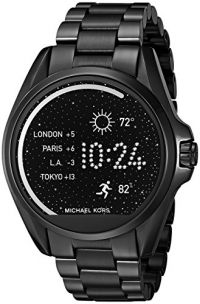 Michael Kors Access Bradshaw Black-Tone Smartwatch