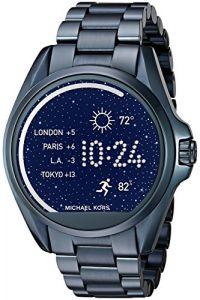 Michael Kors Access Bradshaw Navy-Tone Smartwatch