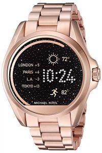 Michael Kors Access Bradshaw Rose Gold-Tone Smartwatch